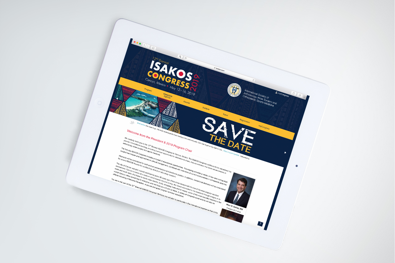 ISAKOS 2019 Website